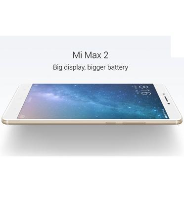 """סמארטפון 6.44"""" 64GB + 4GB RAM מעבד Cortex-A53 מבית XIAOMI דגם MI MAX 2 64GB"""