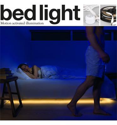 ערכת תאורת לדים עם חיישן חכם לשעות החשיכה דגם 1020