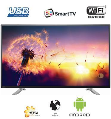 """טלוויזיה 65"""" 4K LED Android Smart TV 400 Hz AMR תוצרת TOSHIBA דגם 65U7750EV +מתקן קיר והתקנה!"""