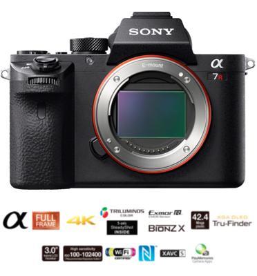 """מצלמת סטילס Full Frame 35 מ""""מ מסדרת אלפה בגוף עשויי מגנזיום מבית SONY דגם ILC-E7RM2B"""