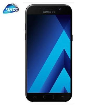 """סמארטפון מסך 5.2"""" 32GB מעבד 8 ליבות תוצרת SAMSUNG דגם Galaxy A5 2017 SM-A520F"""