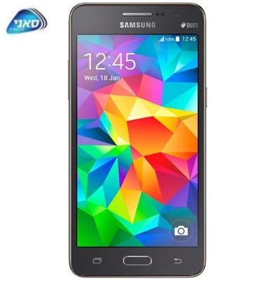 """סמארטפון 5"""" 8GB GALAXY Grand Prime תוצרת SAMSUNG דגם E101053008"""