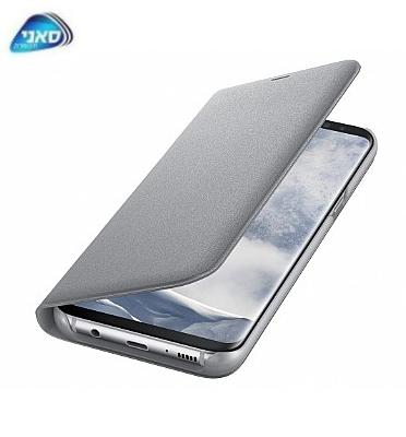 כיסוי LED view cover G950 S8 Silver Dream מבית SAMSUNG דגם C300095011