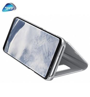 כיסוי Standing Cover G950 S8 Silver Dream Clear View מבית SAMSUNG דגם C400095011