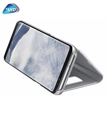 כיסוי Standing Cover G955 S8+ Silver Dream+ Clear View מבית SAMSUNG דגם C400095511