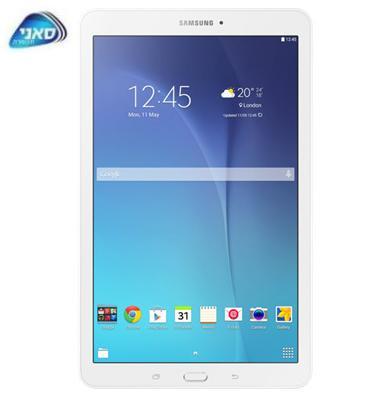 """טאבלט מסך מגע 9.6"""" 8GB מעבד עוצמתי בעל 4 ליבות תוצרת SAMSUNG דגם Galaxy Tab E T560"""