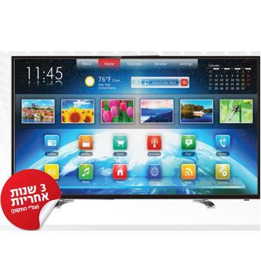 """טלוויזיה """"49 LED 4K SMART TV מערכת הפעלה אנדרואיד תוצרת innova דגם GL-490"""