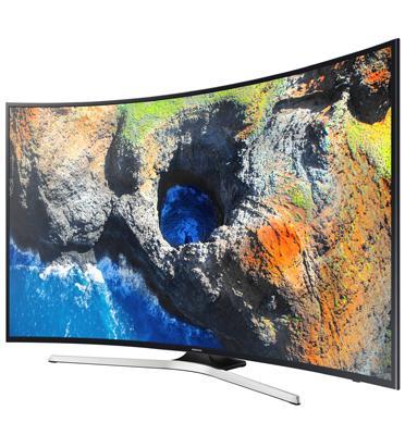 """טלוויזיה קעורה 55"""" 4K SMART TV SLIM תוצרת SAMSUNG דגם 55MU7350"""