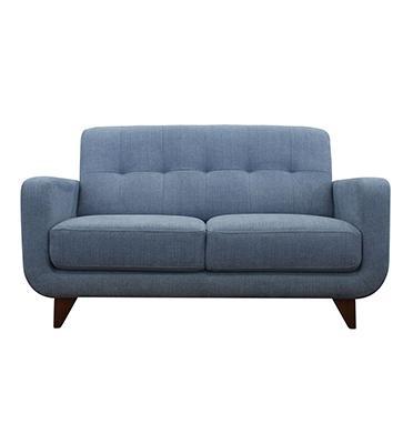 ספה דו-מושבית מעוצבת נוחה לישיבה ידיות גבוהות גב קאפיטונז' מבית .BRADEX דגם ANAIT