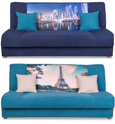 ספה מעוצבת מושלמת לאירוח - נפתחת למיטה בקלות וללא כל מאמץ מבית SIRS דגם CITY