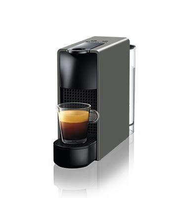 """מכונת קפה אסנזה מיני בצבע אפור מבית Nespresso דגם C30-IL-GRNE+הטבה בסך 100 ש""""ח לרכישת קפסולות"""