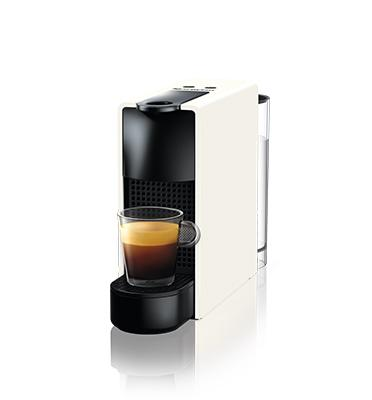 """מכונת קפה אסנזה מיני בצבע לבן מבית Nespresso דגם C30-IL-WH-NE+הטבה בסך 100 ש""""ח לרכישת קפסולות"""