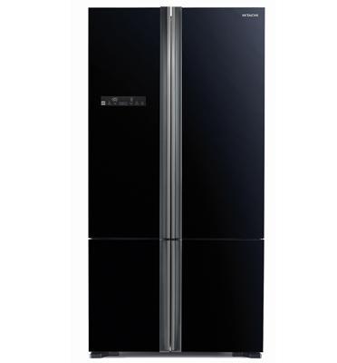 מקרר 4 דלתות מפואר 590 ליטר עם מקפיא תחתון דגם R-WB730 תוצרת HITACHI