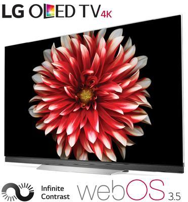 """טלוויזיה """"65 בטכנולוגיית OLED ברזולוציית 4K Ultra HD תוצרת .LG דגם OLED65E7Y"""
