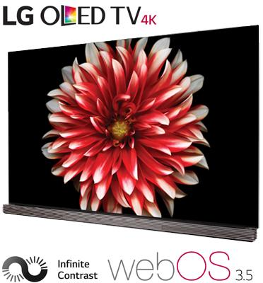 """טלוויזיה """"65 בטכנולוגיית OLED ברזולוציית 4K Ultra HD  תוצרת .LG דגם OLED65G7Y"""