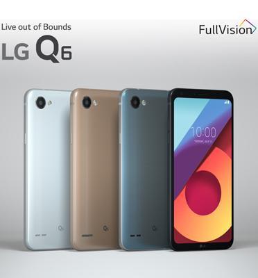"""סמארטפון מסך 5.5"""" 32GB מעבד 8 ליבות מצלמה 13MP תוצרת LG דגם M700Y - Q6 + אוזניות אלחוטיות מתנה"""