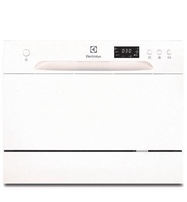 """מדיח כלים שולחני 55 ס""""מ בצבע לבן ELECTROLUX דגם ESF2400OW"""