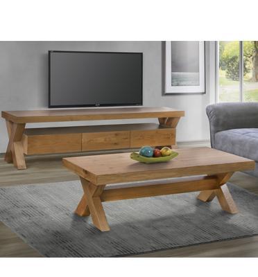 מערכת מזנון ושולחן לסלון בעיצוב יוקרתי ונקי בגימור ברמה גבוהה מבית LEONARDO דגם ורטיגו