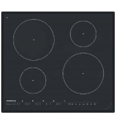 """כיריים אינדוקציה רוחב 60 ס""""מ 4 אזורי בישול משטח זכוכית קרמית איכותית תוצרת ROSIERES דגם RPI-430"""