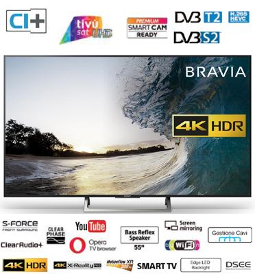 "טלוויזיה ""49 4K Edge LED Frame Dimming SMART TV תוצרת Sony דגם KD-49XE7005BAEP"