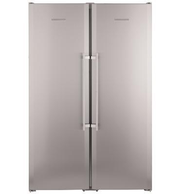 מקרר דלת ליד דלת בנפח 651 ליטר תוצרת LIEBHERR דגם SBSES7212