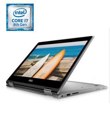 """מחשב נייד """"13.3 16GB מעבד Intel® Core™ i7-8550U Proccesor תוצרת DELL דגם INSPIRON N5379-8128"""