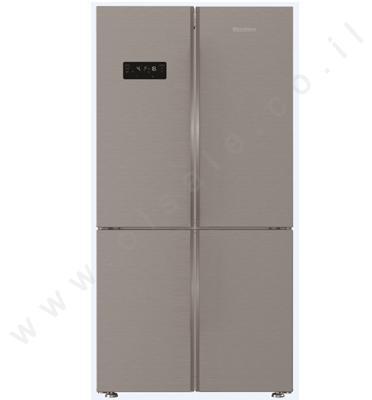 מקרר 4 דלתות 535 ליטר נטו מקפיא תחתון Blomberg. בגימור נירוסטה דגם KQD1621X