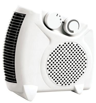 מפזר חום עומד/שוכב 2000 וואט חימום מיידי עם 2 עוצמות חימום מבית Relax דגם RE-23
