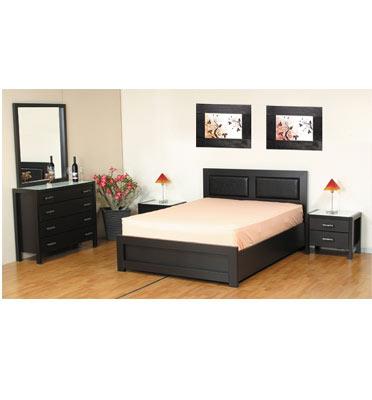 מיטה זוגית כולל ארגז מצעים תוצרת קסטל בורוכוב דגם רודוס