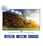 """טלויזיה """"55 4K SMART TV FLAT Premium slim-360 תוצרת SAMSUNG מסדרת QLED דגם 55Q7F"""