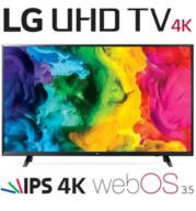 "טלויזיה ""43 LED Smart TV 4K Ultra HD עם פאנל IPS תוצרת LG דגם 43UJ620Y"