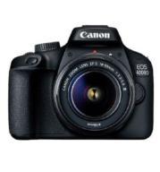 מצלמה רפלקס DSLR + קיט עדשה EF18-55III תוצרת CANON דגם EOS 4000D  אחריות יבואן רשמי!