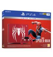 השקה מוקדמת!! קונסולה פלייסטיישן PS4 1 TB + MARVEL'S SPIDER-MAN LIMITED בקר רוטט CUH-2216B-SMLE