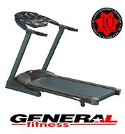 """מסלול ריצה 8 כ""""ס עם שיפוע חשמלי מתכוונן General Fitness דגם WIND 52 כולל הובלה והרכבה מתנה"""