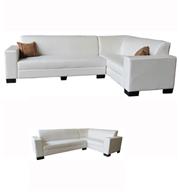 מערכת ישיבה פינתית מדמוי עור איכותי תוצרת OR Design דגם סיציליה