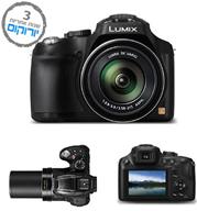 """מצלמה 16MP זום עד X60 מסך 3"""" וידאו FULL HD תוצרת PANASONIC דגם DMC-FZ70"""