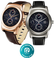Watch Urbane השעון העגול, המרשים והמוצלח! תוצרת LG דגם W150 יבואן רשמי רונלייט