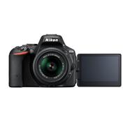 מצלמה ריפלקסית 24.2MP גוף תוצרת NIKON דגם D5500