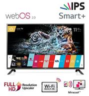 """טלוויזיה 55"""" LED Smart TV Slim FHD עם פאנל IPS+ממשק webOS תוצרת LG. דגם 55LF630Y"""