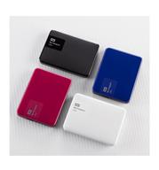 """דיסק קשיח חיצוני נייד 2.5"""" בנפח 3TB תוצרת WesternDigital דגם WDBBKD0030BBK"""