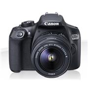 """מצלמה DSLR 18MP מסך 7.5 ס""""מ וידאו FULL HD כולל עדשה 18-55DC תוצרת CANON דגם EOS 1300D"""