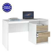 שולחן כתיבה עם שידת מגירות תוצרת אירופה HOME DECOR דגם לילי