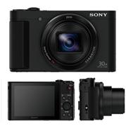 מצלמת סטילס קומפקטית עם תקשורת WIFI תוצרת SONY דגם DSC-HX90VB