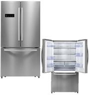 מקרר 3 דלתות בנפח 540 ליטר No Frost תוצרת Hisense דגם RQ70WC4SZT