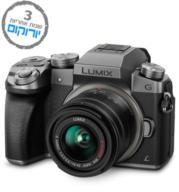 מצלמה דיגיטלית DSLM (ללא מראה) 16MP גוף בלבד וידאו 4K תוצרת Panasonic דגם DMC G7