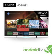 "טלוויזיית ANDROIDTV 55"" EDGE LED Motionflow 1000Hz 3D תוצרת SONY דגם KDL-55W809CBAEP"
