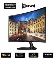 """מסך מחשב מולטימדיה קעור 23.5"""" LED מבית .SAMSUNG דגם C24F390FH"""