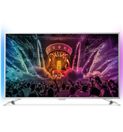 "טלוויזיה 49"" LED 4K SMART ANDROID , עידן+ תוצרת PHILIPS דגם 49PUS6501"
