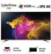 """טלוויזיה חכמה 65"""" Slim LED 4K Ultra HD,ואינדקס עיבוד תמונה 1900PMI תוצרת LG. דגם 65UH750Y"""
