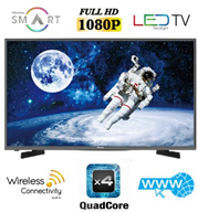 "טלוויזיה 40"" SMART LED TV Full HD תוצרת Hisense דגם 40K3110PW"